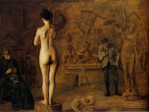 Thomas Eakins - William Rush carving his Allegorical Figure of the Schuylkill river