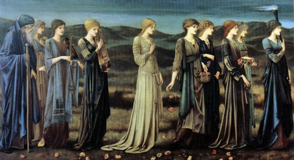 Edward Coley Burne-Jones - The Wedding of Psyche