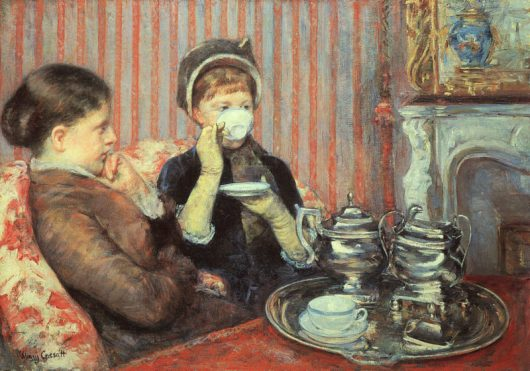Mary Cassatt - Five O'Clock Tea