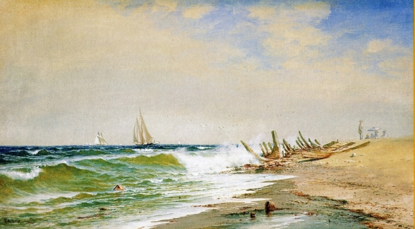 Francis A. Silva - A Summer Day on the Coast