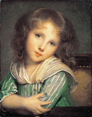 Jean-Baptiste Greuze - Girl at the Window