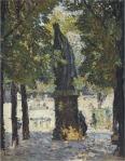 Henri Martin-Garden of Luxembourg