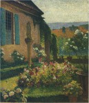 Henri Martin-Garden of the Artist