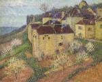 Henri Martin-Groupe de Maisons a Saint Cirq Lapopie