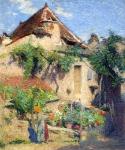 Henri Martin-House and Garden at Saint Cirq Lapopie 1920