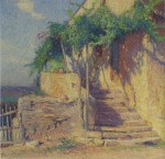 Henri Martin-House with Vine and Staircase