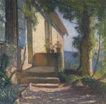 Henri Martin-La Facade de Maison