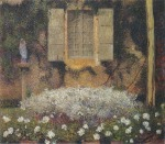 Henri Martin-La fenetre su le jardin