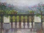 Henri Martin-Terrace in the Rain in Marquayrol