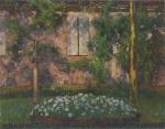Henri Martin-The Garden in Marquayrol