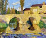 Henri Martin - The Pont de la Bastiide-du-Vert