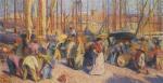 Henri Martin-The Port of Marseilles