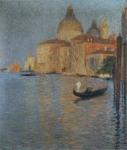 Henri Martin-Vue Salute a Venise