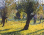 Henri Martin-Willows in the Vert