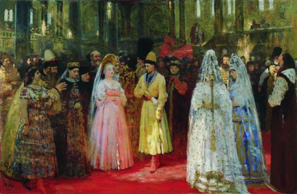 Ilya Repin - Choosing a Bride for the Grand Duke