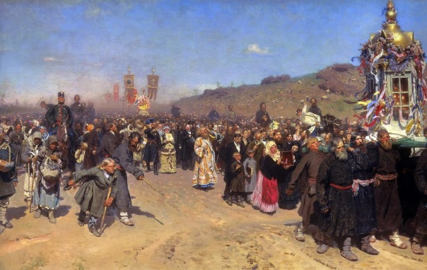 Ilya Repin - Easter Procession in the Region of Kursk