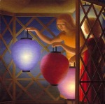 George Tooker - In the Summer House