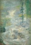 John Henry Twachtman - The Rainbow's Source