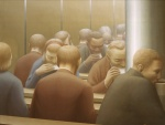 George Tooker - Lunch