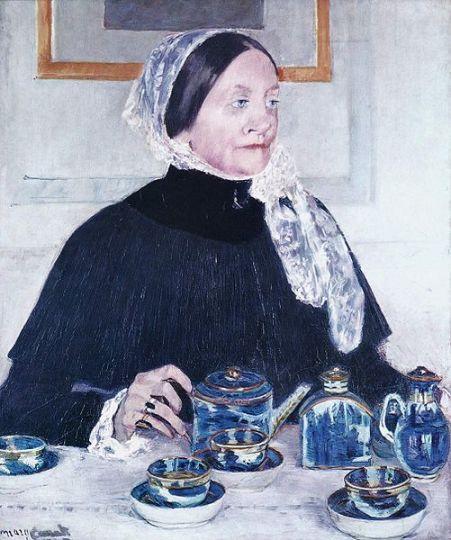 Mary Cassatt – Woman at table