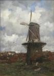 Jacob Maris - Stenen molen