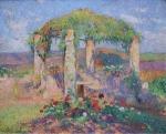 Henri Martin - The Beginning of Autumn