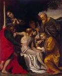 Agostino Carracci - The Lamentation