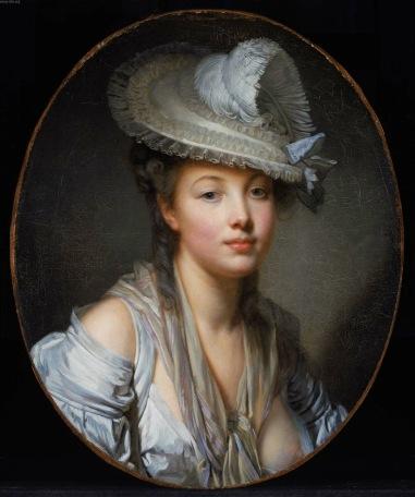 Jean-Baptiste Greuze - The White Hat