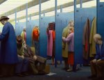 George Tooker - Waiting Room