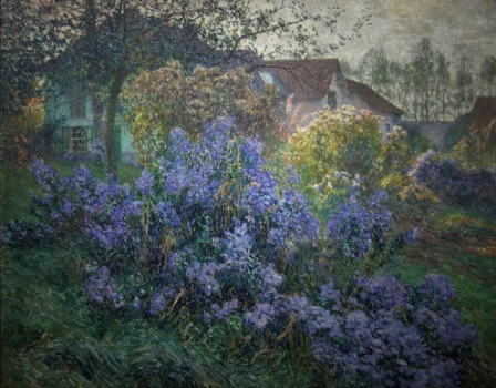 Emile Claus - The asters