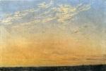 Caspar David Friedrich - Evening with clouds