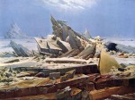 Caspar David Friedrich - Polar sea (The destroyed hope)