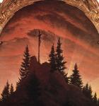 Caspar David Friedrich - The Cross in the Mountains