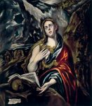 El Greco - Penitent Magdalen