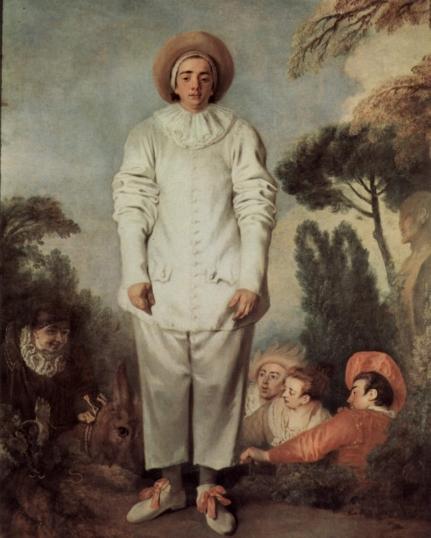 Jean-Antoine Watteau - Gilles