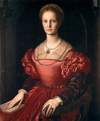 Agnolo Bronzino - Portrait of Lucrezia Panciatichi