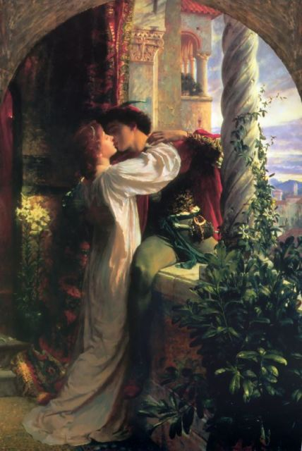 Frank Dicksee - Romeo and Juliet