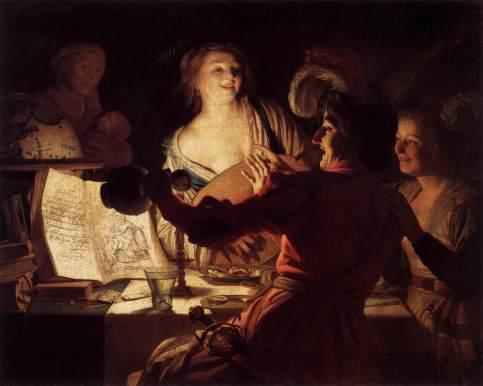 Gerrit van Honthorst - Merry Company