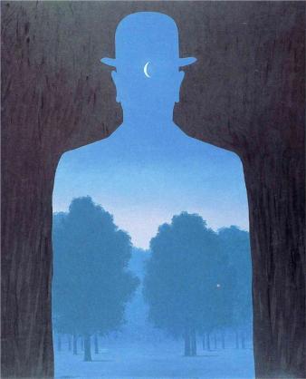 René Magritte - A friend of order, 1964