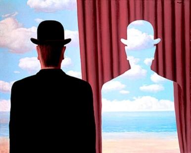 René Magritte - La Decalcomanie