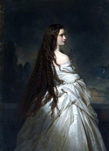 Franz Xavier Winterhalter - Empress Elisabeth of Austria