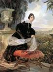 Karl Briullov - Comtesse Saltykova.