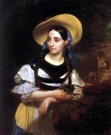Karl Briullov - Portrait of Fanny Persiani-Takinardi in the role of Amina in Bellini's opera La Sonnambula