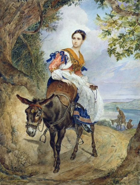 http://g1b2i3.files.wordpress.com/2010/12/karl-briullov-portrait-of-o-p-ferzen-on-a-donkeyback.jpg