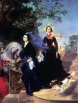 Karl Briullov - Portrait of the sisters A.A. and O.A. Shishmareva