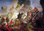 Karl Briullov - Siege of Pskov by Polish king Stefan Batory