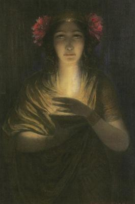 Louis Welden Hawkins - The Priestess