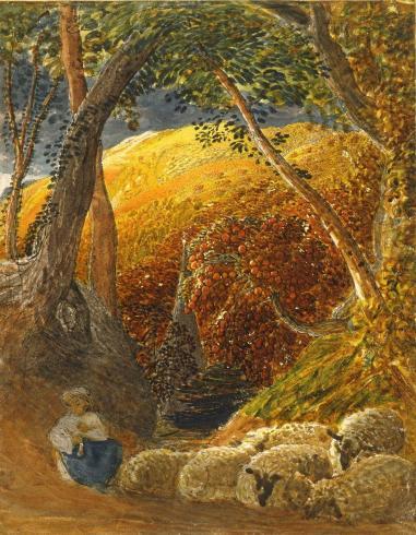 Samuel Palmer - The Magic Apple Tree