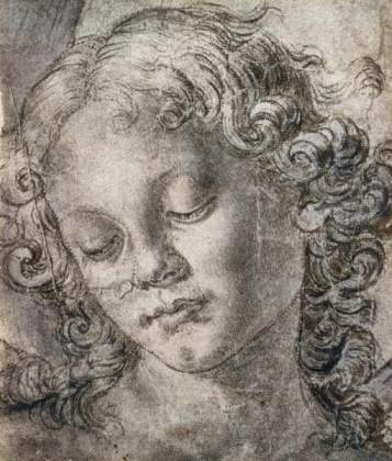 Andrea del Verrocchio - Head of Angel