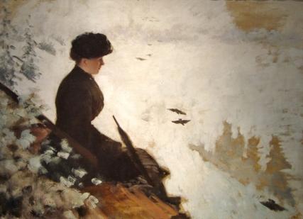 Giuseppe de Nittis - Effet de neige (1880)